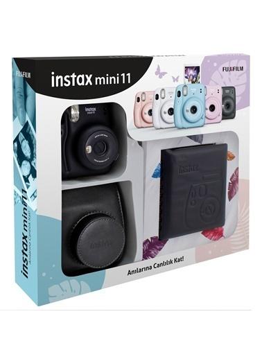 Fujifilm Instax mini 11 Kare Albümlü Siyah Kit Siyah